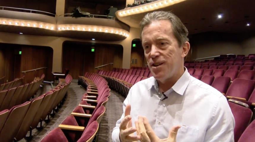 Terry Dwyer, President of McCallum Theatre