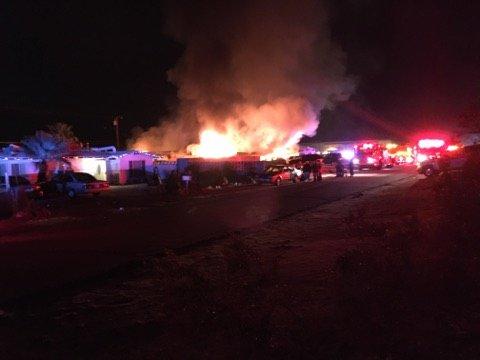 Desert Hot Springs residential fire