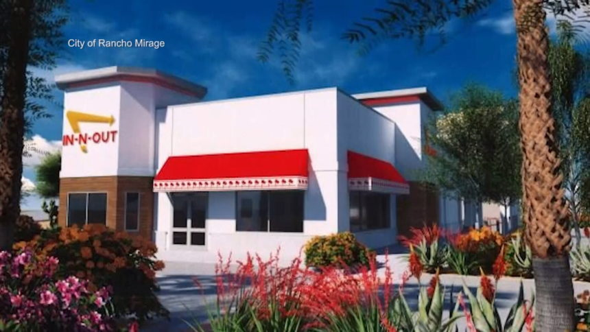 RANCHO MIRAGE IN-N-OUT