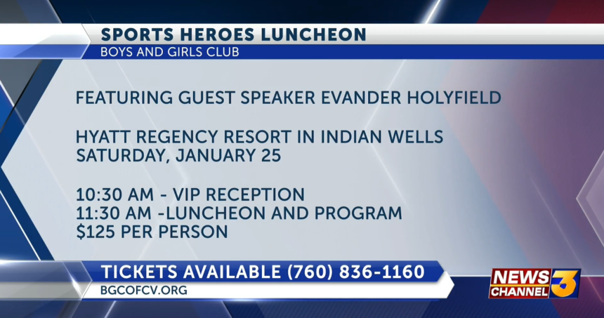 sports heroes luncheon