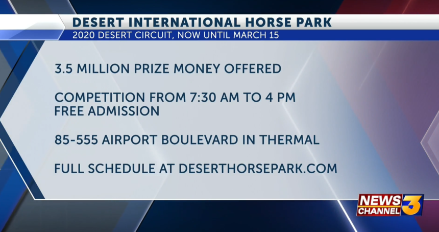 022120 DESERT INTERNATIONAL HORSE PARK