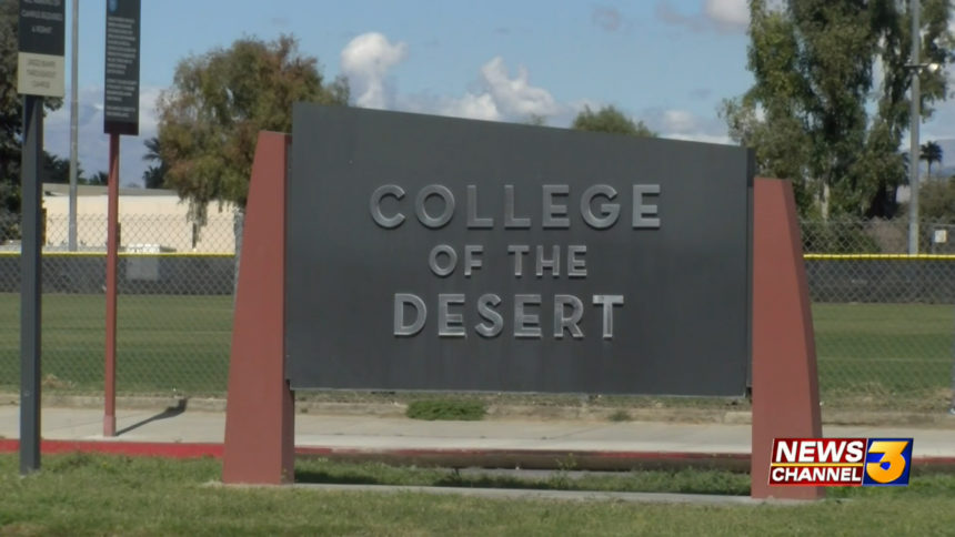COLLEGE OF THE DESERT COD
