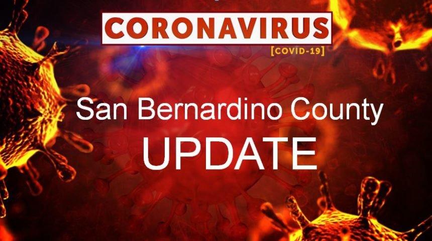 San Bernardino update coronavirus