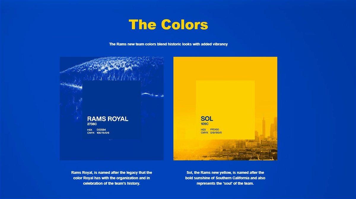 L A Rams Unveil New Logo What Do You Think Kesq