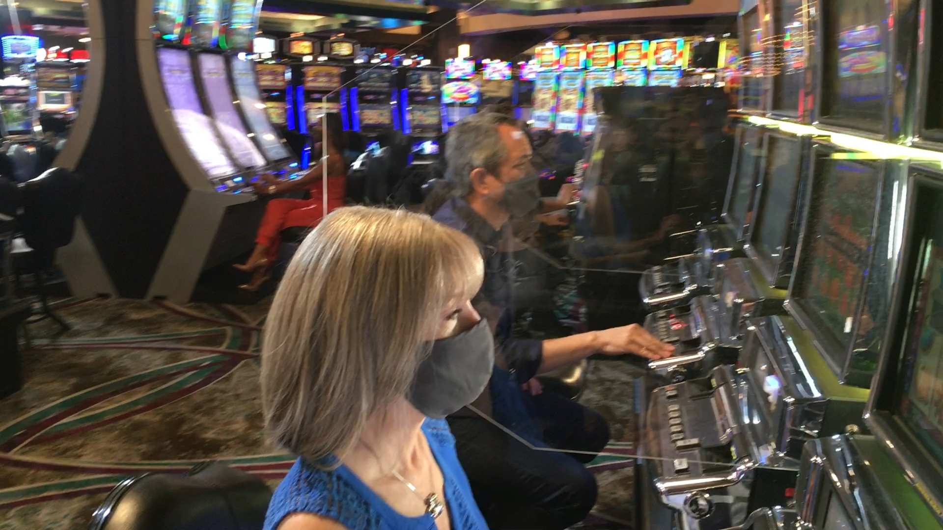 Masks, temperature-taking and glass partitions: a new normal at valley  casinos - KESQ