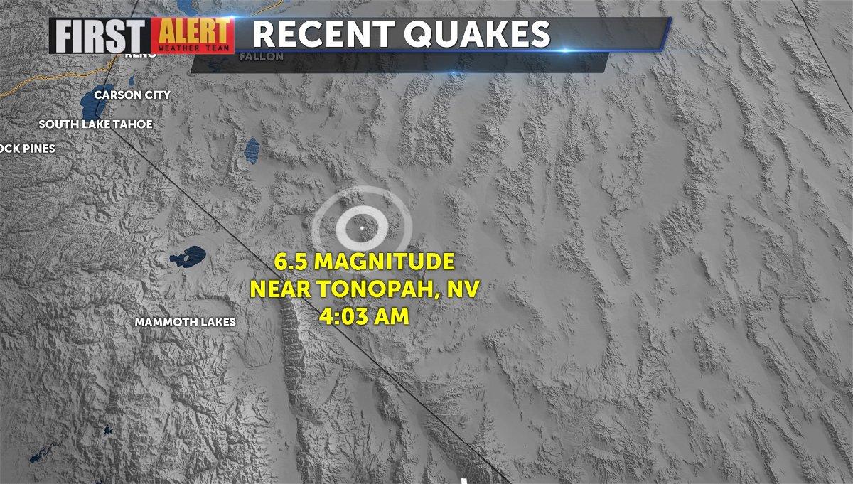 UPDATED: 6.5 Magnitude earthquake shakes California and Nevada - KESQ