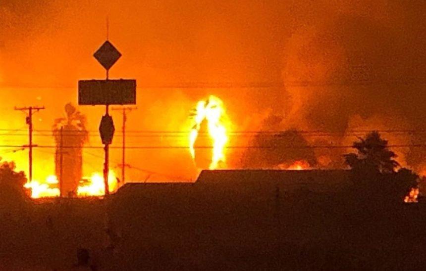 Courtesy: EL CENTRO FIRE DEPT.