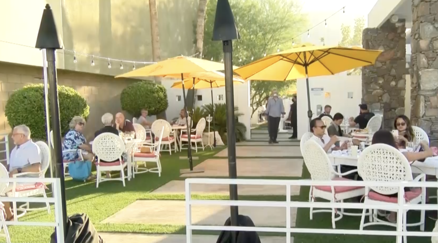 Palm Springs restaurant owners respond to closing inside dining for the second time since start of pandemic - KESQ