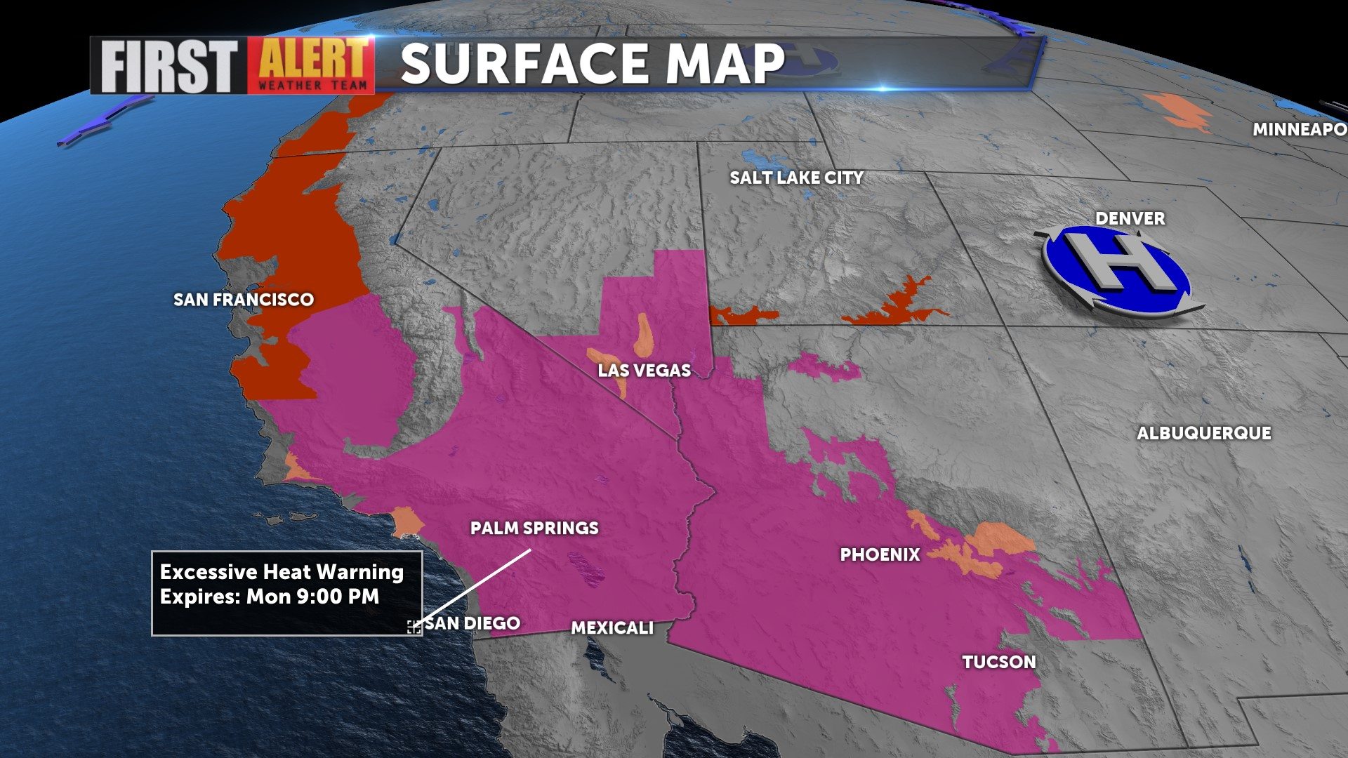 Excessive Heat And Humidity In The Forecast Kesq