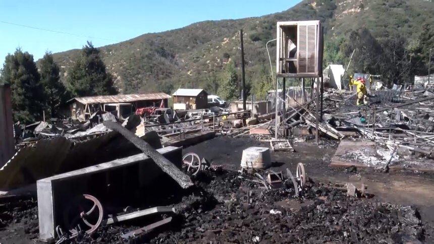 Fire At Riley S Farm Devastates Riley S At Los Rios Rancho Property Kesq