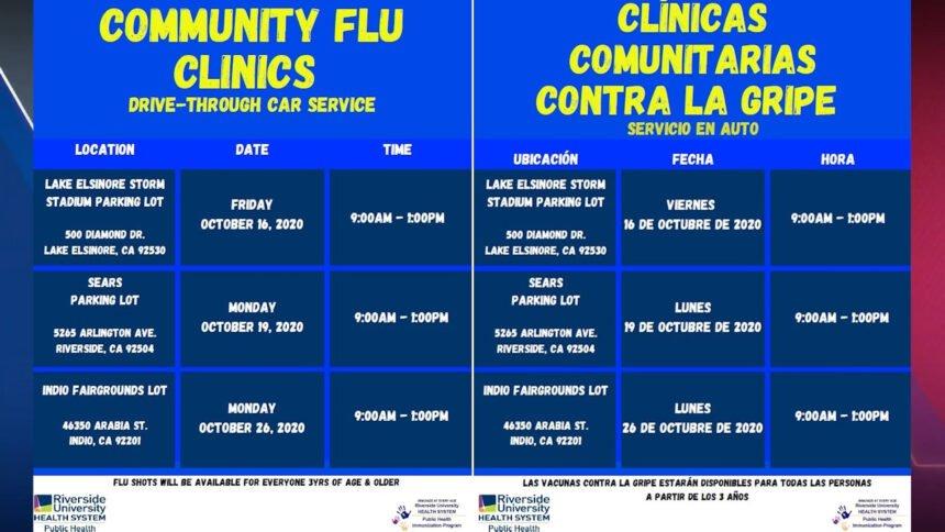 community flu shots