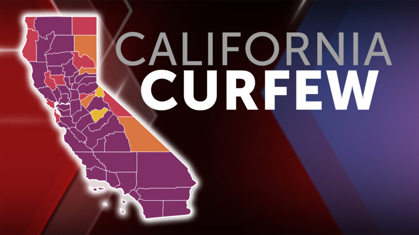 California Curfew