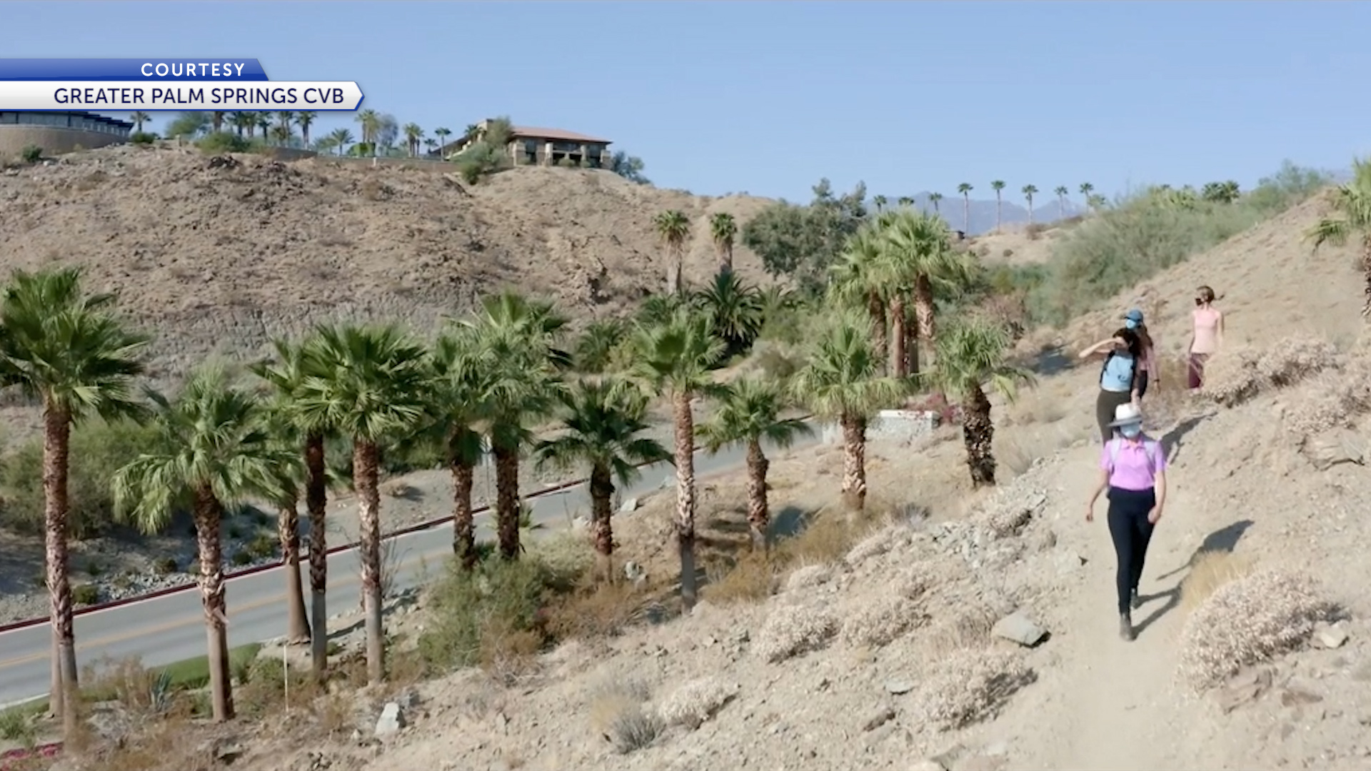 Palm Springs attracting tourists looking for destinations with strong COVID-19 protocols - KESQ