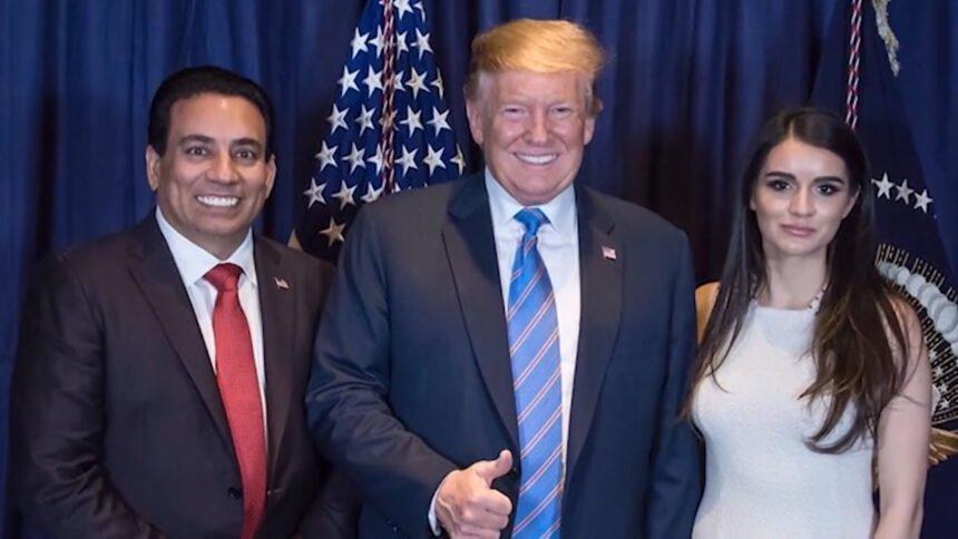 chandi and president trump