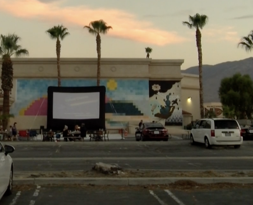 PS movie drive in