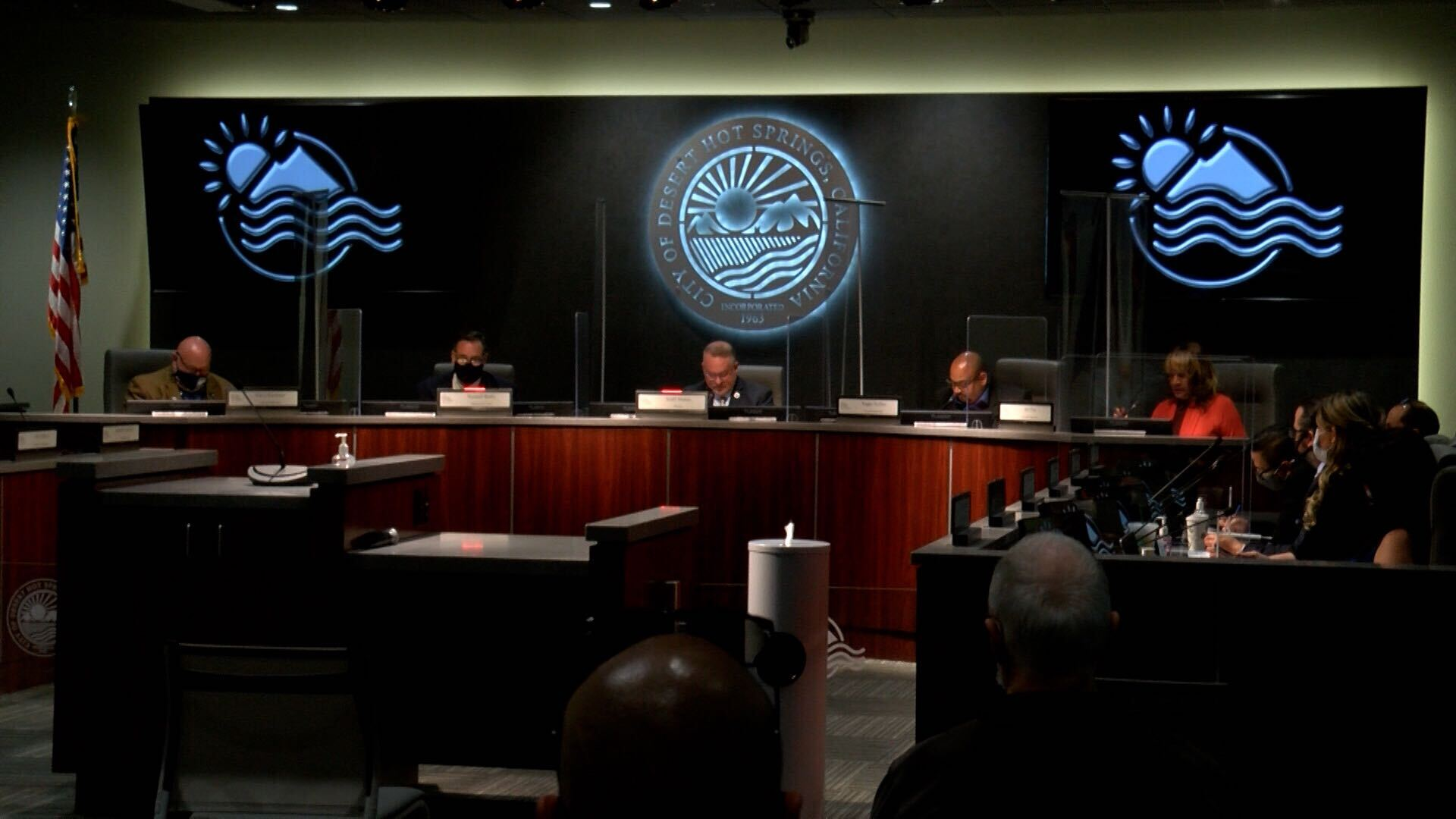 Desert Hot Springs City Council holds first in-person meeting at new city hall - KESQ