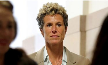 Andrea Constand and her attorneys said the decision to vacate Cosby's conviction is disappointing and discouraging to survivors of sexual assault. She is seen here in 2018.