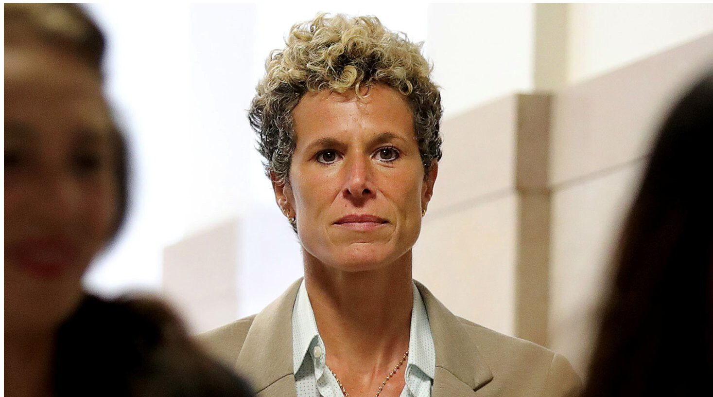 <i>David Maialetti/Getty Images</i><br/>Andrea Constand and her attorneys said the decision to vacate Cosby's conviction is disappointing and discouraging to survivors of sexual assault. She is seen here in 2018.