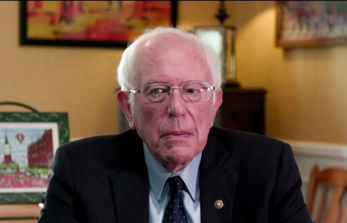 Sen. Bernie Sanders on June 20 said it's urgent that Democrats work toward an infrastructure package with a larger price tag that addresses climate change and other related issues.