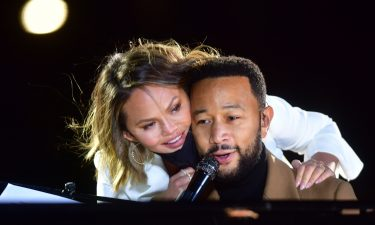 """Singer John Legend said that his wife Chrissy Teigan is doing """"great."""""""