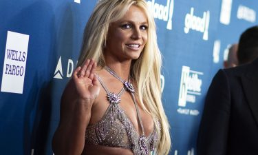 Singer Britney Spears attends the 29th Annual GLAAD Media Awards at the Beverly Hilton on April 12