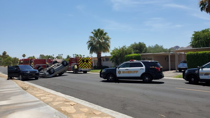 070721 Rancho Mirage Crash