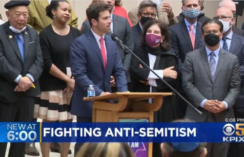 A group of leaders in San Francisco joined together on July 29 to condemn anti-semitic incidents happenings in their area and around the country.