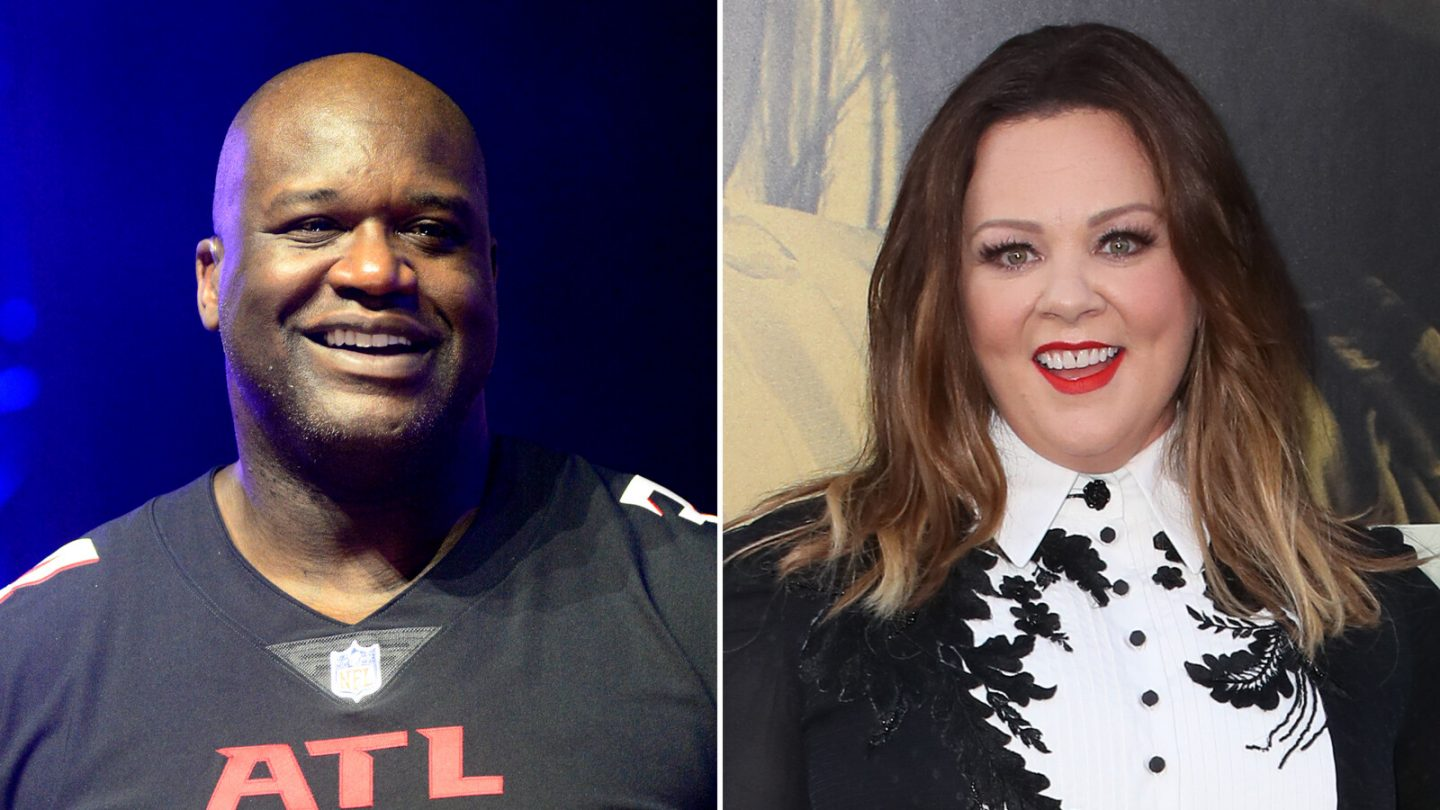 <i>Gerardo Mora/David Livingston/Getty Images</i><br/>The voices of Shaquille O'Neal and Melissa McCarthy are available now on Amazon Alexa.