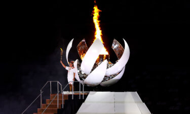 The torch has been lit at the Tokyo Olympics and the opening weekend will feature competition in men's gymnastics