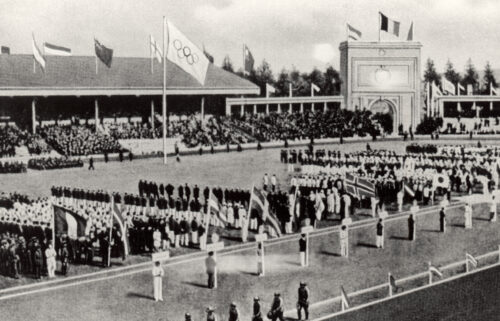 Athletes complained of poor conditions at the 1920 Antwerp Games which followed World War I and the Spanish flu pandemic.