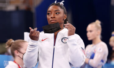Simone Biles will not compete in the Olympics finals for two of the four individual women's gymnastics events