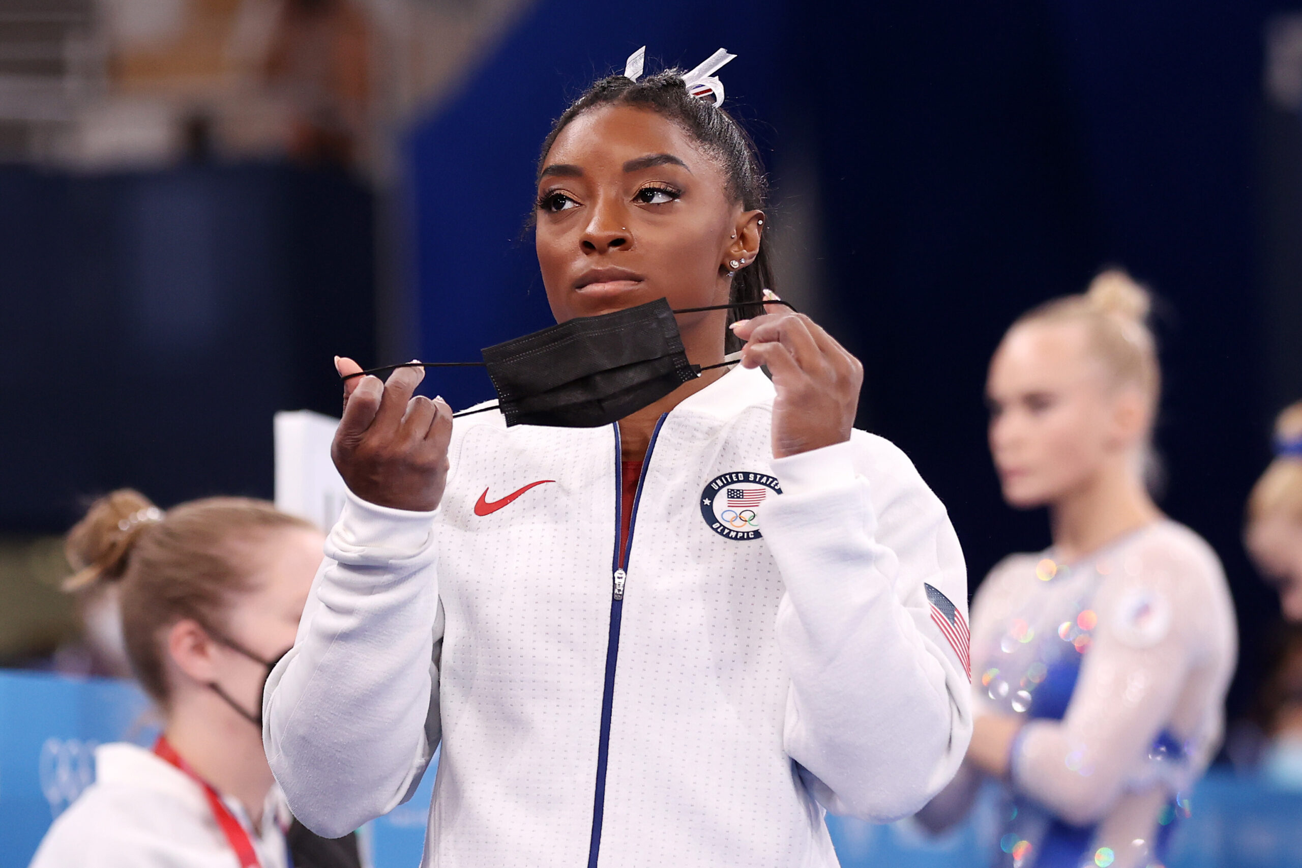 <i>Laurence Griffiths/Getty Images</i><br/>Simone Biles will not compete in the Olympics finals for two of the four individual women's gymnastics events