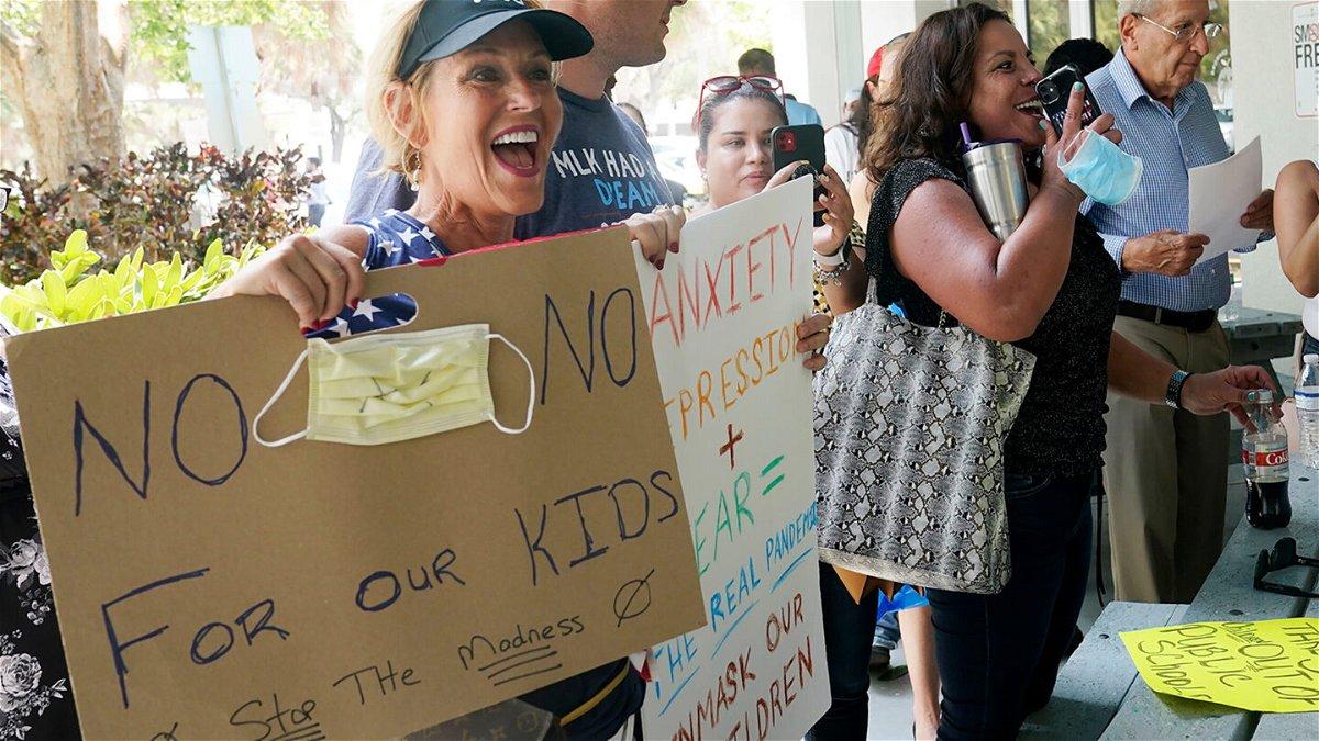 <i>Marta Lavandier/AP</i><br/>Joann Marcus of Fort Lauderdale