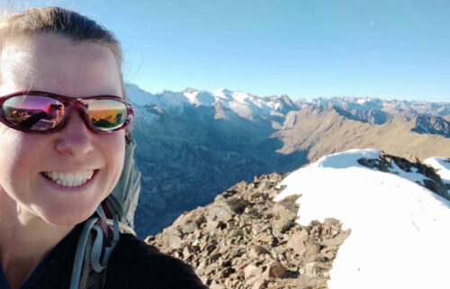 Esther Dingley went missing during a three-day hike in the Pyrenees mountains last November.