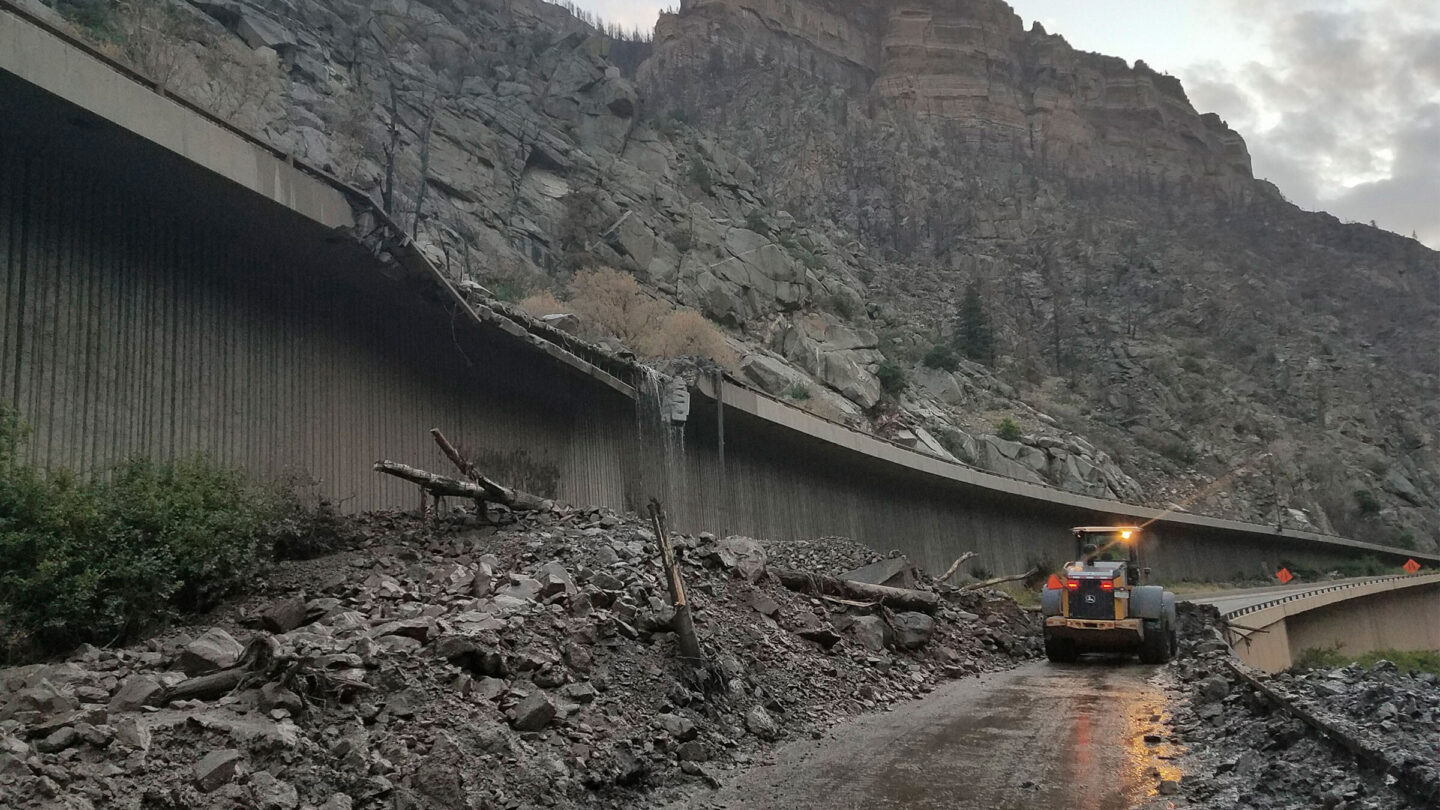 <i>Colorado Department of Transportation via AP</i><br/>In this photo provided by the Colorado Department of Transportation
