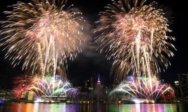 The annual Macy's Fourth of July fireworks in New York City were spread out over several days in 2020 because of the coronavirus pandemic.
