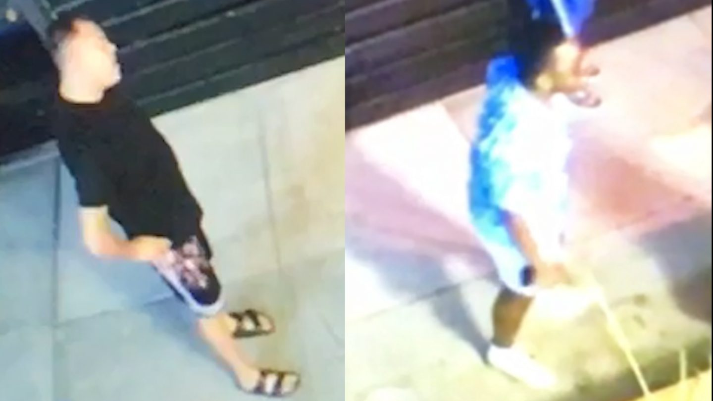 Photos of the suspects in Friday's altercation