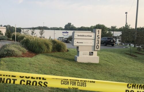 Two employees were injured during an early morning workplace shooting Tuesday at a Smile Direct Club in Antioch