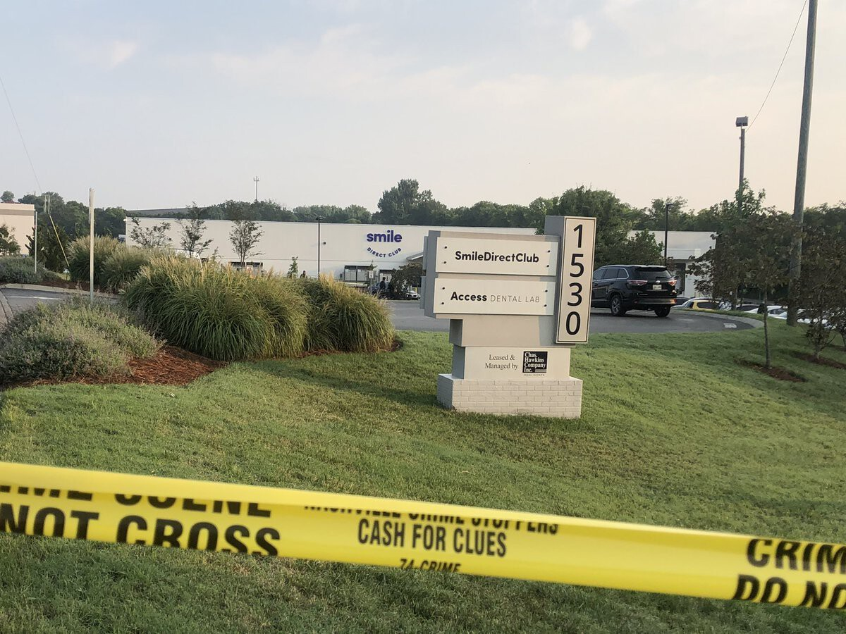 <i>@AlexandriaaTV/WSMV</i><br/>Two employees were injured during an early morning workplace shooting Tuesday at a Smile Direct Club in Antioch