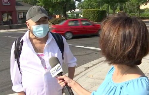 Michael Gilbert speaks out after an illegal street racing event blocked a northeast Portland intersection for about three hours.