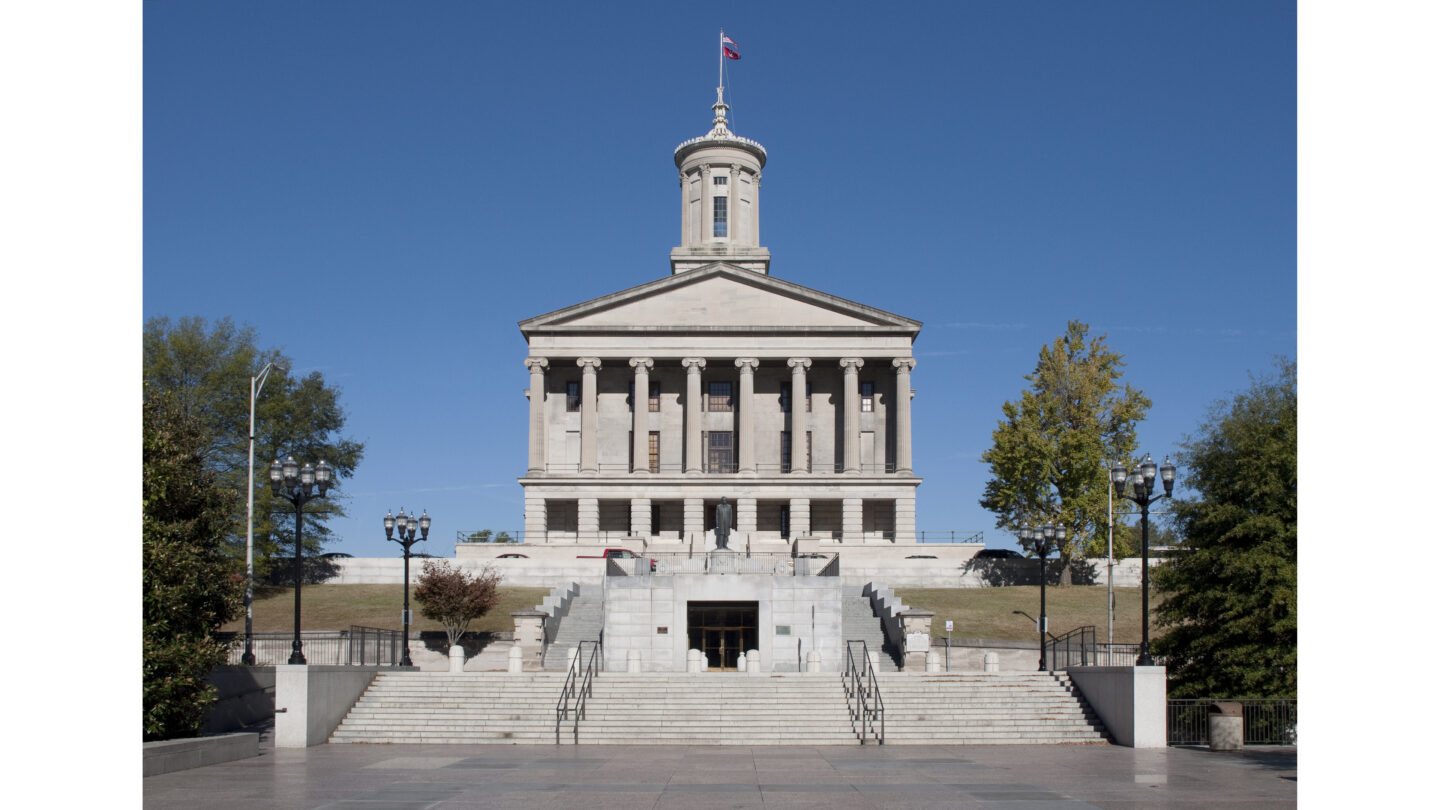 <i>Katherine Welles/Shutterstock</i><br/>LGBTQ advocates sue Tennessee over the new anti-transgender bathroom law. The law prevents transgender people from using bathrooms  consistent with their gender identity.
