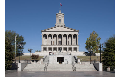 LGBTQ advocates sue Tennessee over the new anti-transgender bathroom law. The law prevents transgender people from using bathrooms  consistent with their gender identity.