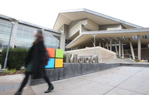 Microsoft will require US workers to get vaccinated. This image shows Microsoft headquarters in Redmond
