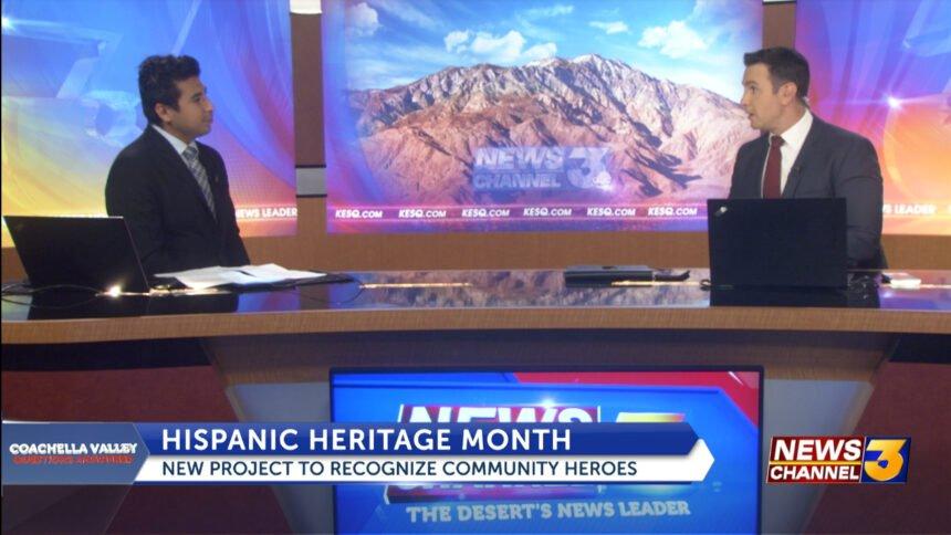 Telemundo 15's Marco Revuelta discusses Hispanic Heritage Month series highlighting community heroes - KESQ