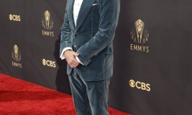 Jason Sudeikis won best lead actor in a comedy for his role in  'Ted Lasso' during the 73RD EMMY AWARDS on Sept. 19