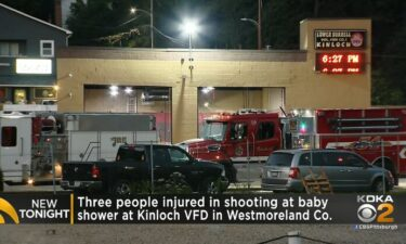 Three people were shot at a baby shower at the Kinloch Volunteer Fire Department on September 18