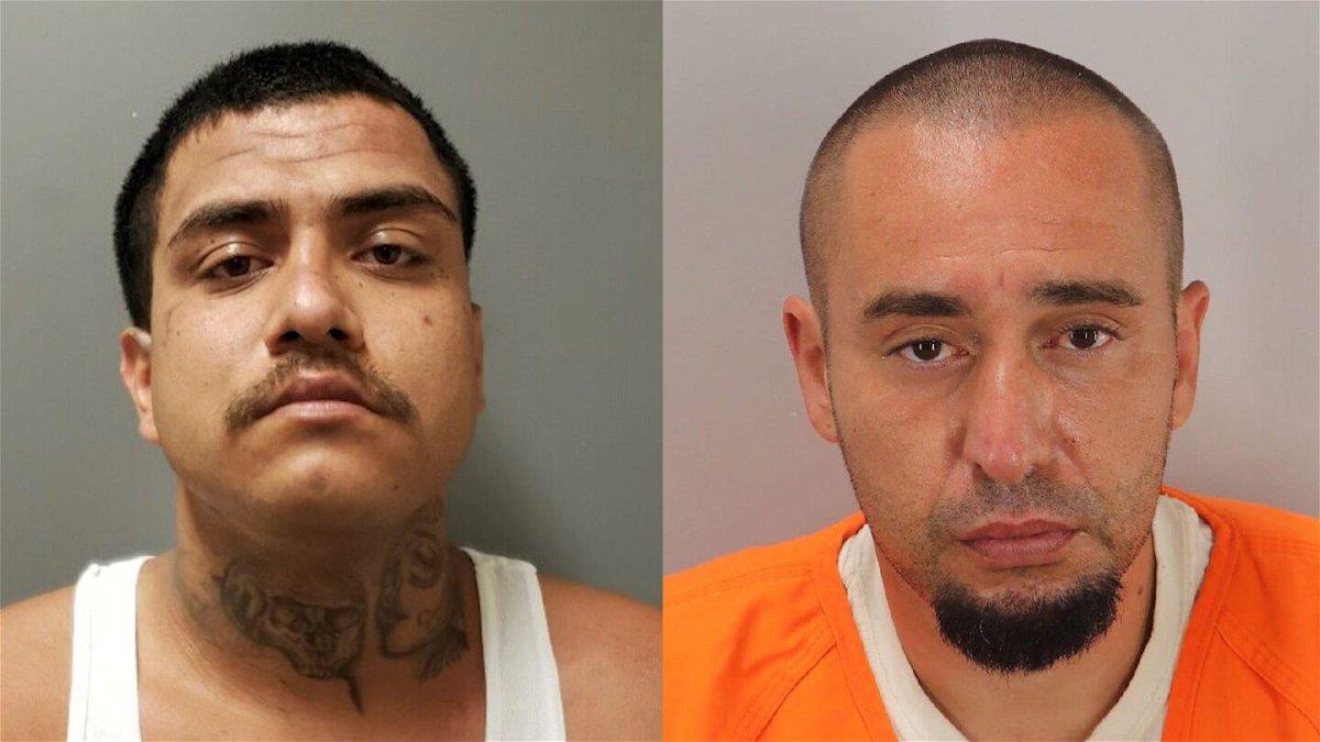 Daniel Ray Martinez (Left) and Jesus Gabriel Pena (Right)