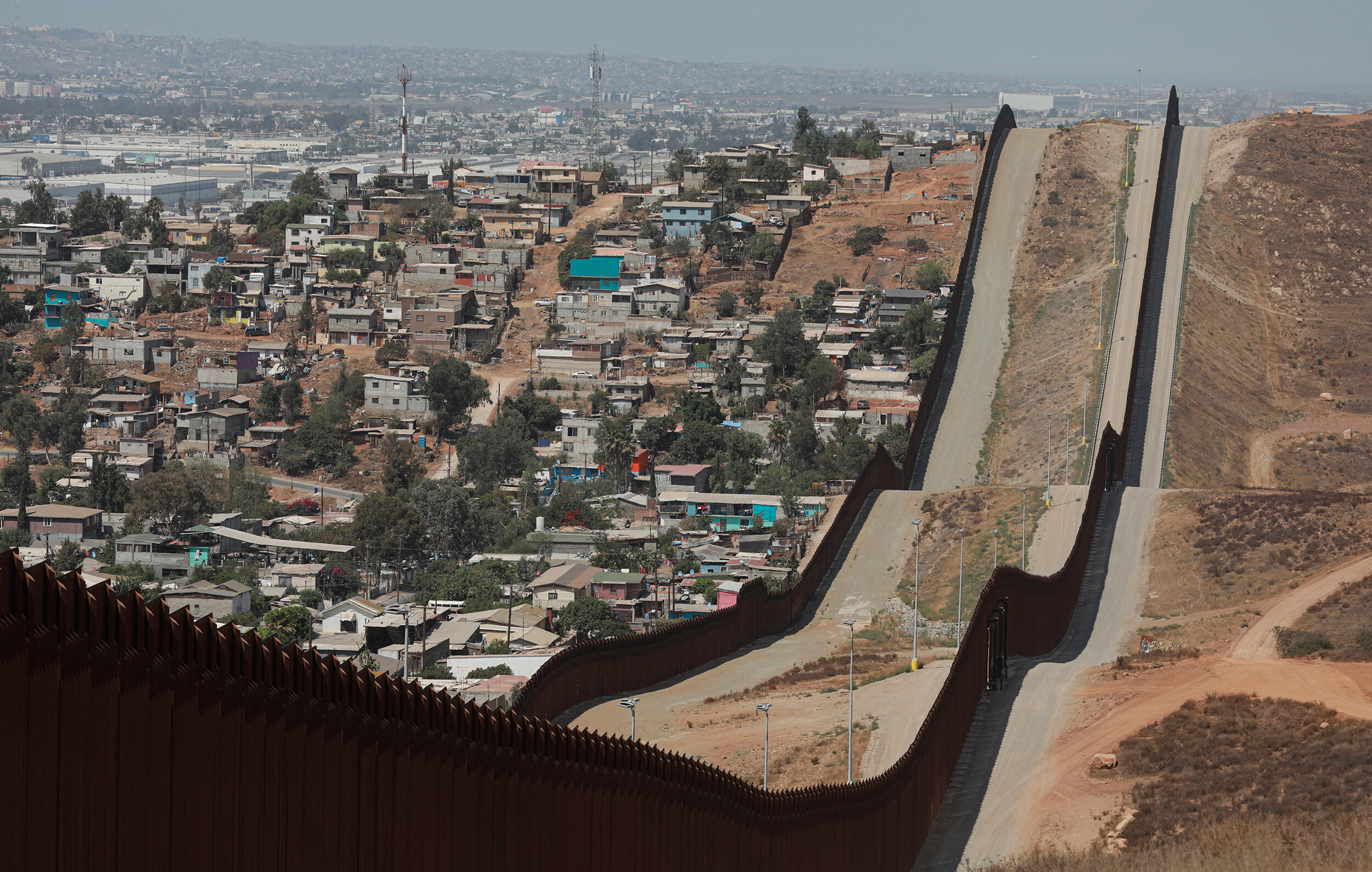 <i>Sandy Huffaker/AFP/Getty Images</i><br/>The Department of Homeland Security needs to enhance its Covid-19 prevention measures at the US-Mexico border
