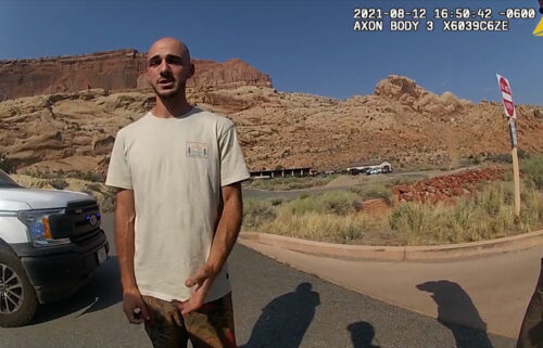 Bodycam footage from the Moab Police Department from August shows them talking with Brian Laundrie.