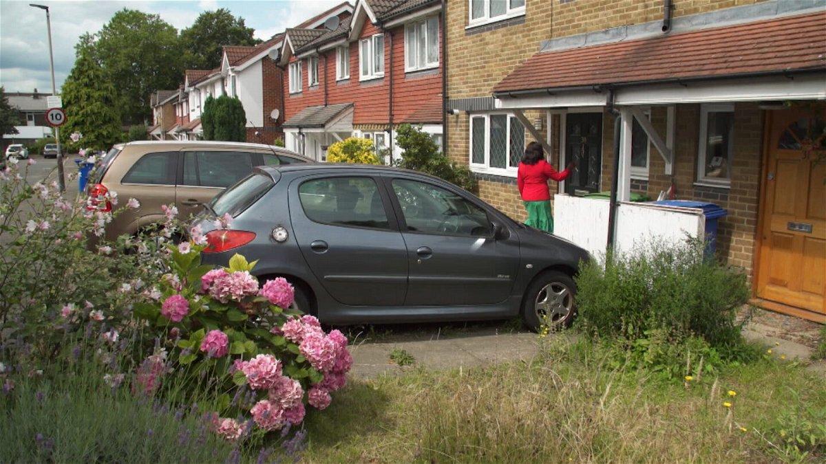 <i>CNN</i><br/>The suburban London street where Radio Biafra is registered.